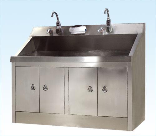 """""""普康""""无菌室感应洗手池G-1型"""