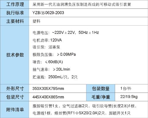 7A-23B型电动吸引器介绍