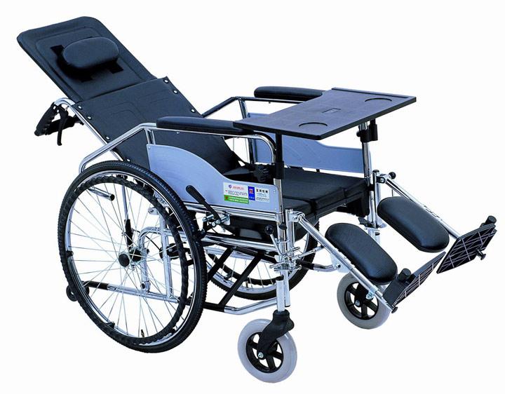 互邦钢管全躺轮椅 HBG5-BFQ型