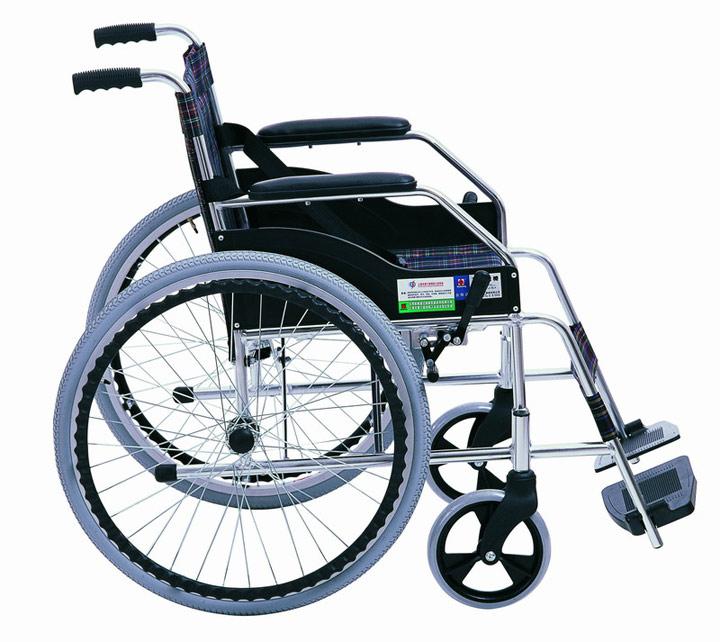 互邦HBL1轮椅 侧面图