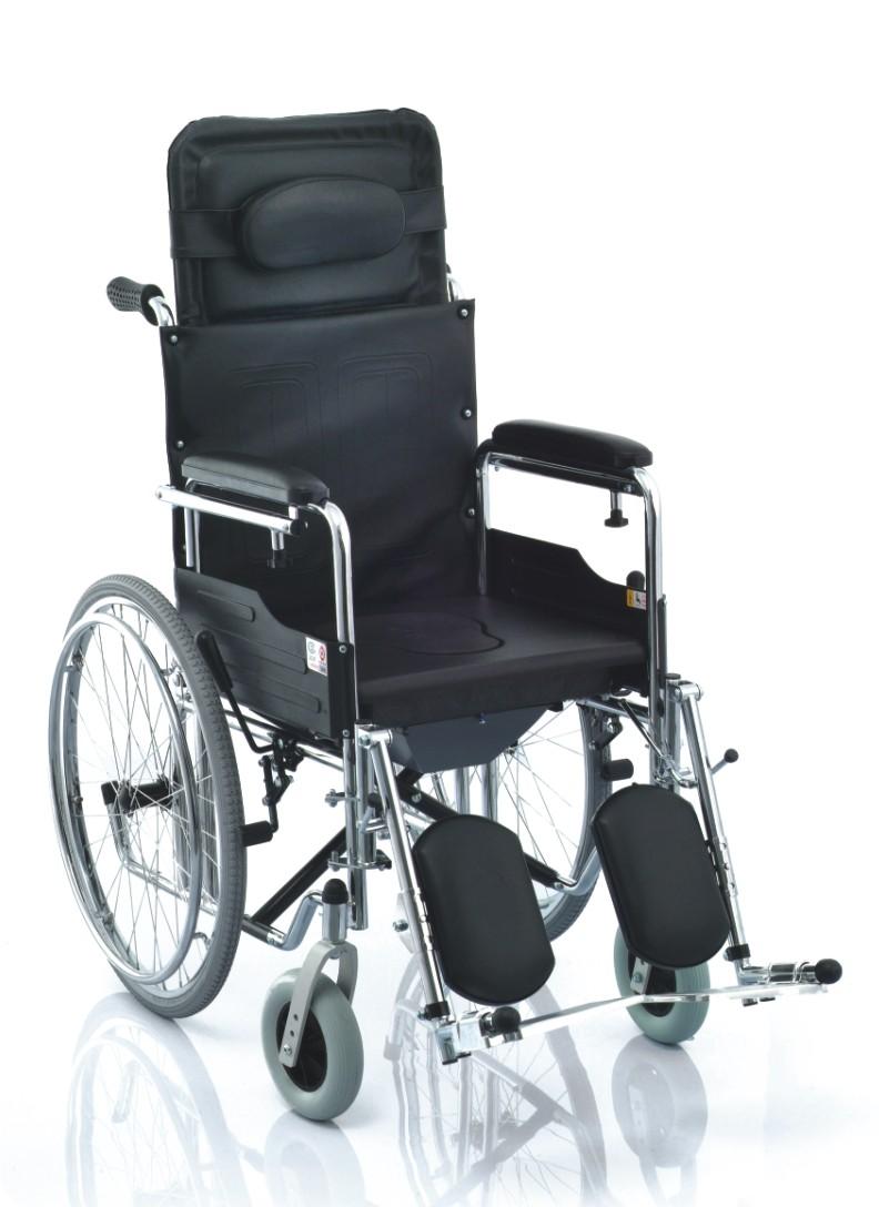 鱼跃 轮椅车 H009B(喷塑软座)