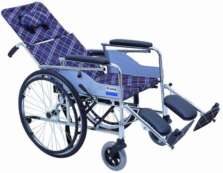 上海互邦HBG9-Y高靠背护理轮椅