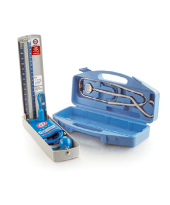 鱼跃A型 血压计听诊器保健盒