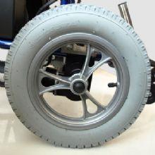 上海互邦轮椅车配件:12寸后轮12寸