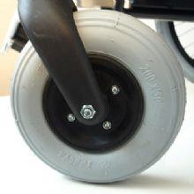 上海互邦电动轮椅车配件:8寸充气前轮 8寸