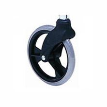 上海互邦轮椅车配件:8寸小轮前叉8寸