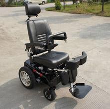 WISKING 上海威之群电动轮椅车wisking-1035漫步者 320W电机   55AH电池完全站立 电动平躺 可调后背