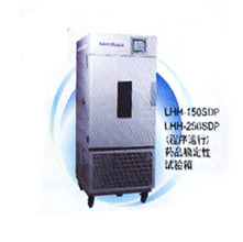 上海一恒药品稳定性试验箱LHH-250SDP 程序运行