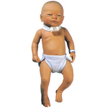 高级儿童气管切开护理模型 KAS-H24