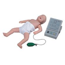 高级婴儿心肺复苏模拟人 KAR/CPR160适用于社会心肺复苏培训机构、医院、医学院、卫校等进行新生儿心肺复苏培训的理想产品。
