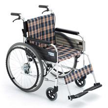 Miki 三贵轮椅车MUT-43JD型  米格色(A-10)免充气胎