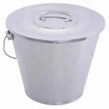 华瑞不锈钢拎桶A621 Φ300×250 (1.2万ml)