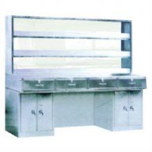 山东育达全不锈钢Ⅲ型工作台C12型 1900×700×800mm (带试剂架)