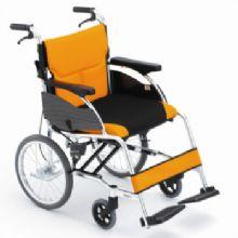 Miki 三贵轮椅车MCSC-43JL DX型 小轮 橙色 W3