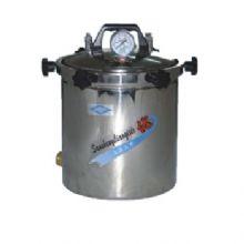 上海三申压力蒸汽灭菌器YX280B型 18L 手提式/不锈钢立式/煤电两用
