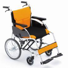 Miki 三贵轮椅车 MCSC-43L型航太铝合金,强度加倍 黑色