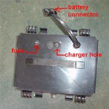 WISKING 上海威之群电动轮椅车配件:电池 1023TT