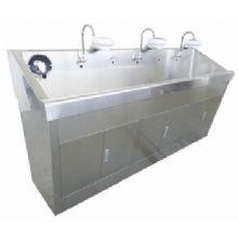 华瑞不锈钢电热自动感应洗手池(普通型)C281 2200×650×1245