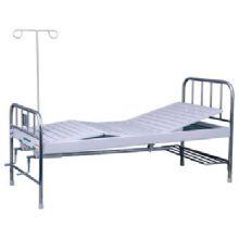 华瑞不锈钢喷塑混合型双摇病床 D131