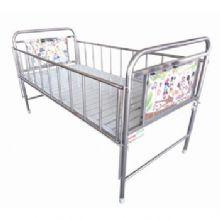 华瑞不锈钢、喷塑混合型儿童病床 D431