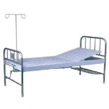 华瑞不锈钢、喷塑混合型单摇病床 D071