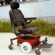 WISKING 上海威之群电动轮椅车wisking-1013型 英国PG控制器 进口电机 六轮电动
