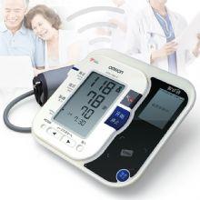欧姆龙智能电子血压计 HEM-7080 IC 智诊通智能测压带心率不齐检测功能 血压监测远程管理