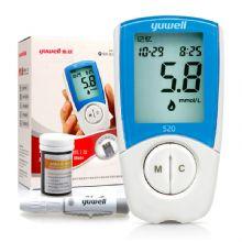 鱼跃血糖仪 520 悦准Ⅰ型医用级精准测量,8秒即测