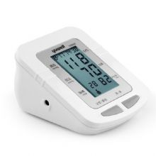 鱼跃电子血压计YE-660D 上臂式全自动语音播报 ,大屏显示,90组超大记忆组,带背光功能