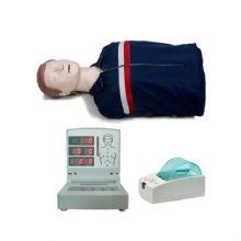 高级电脑半身心肺复苏模拟人(语音、计数、考核打印) BIX-CPR260