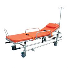 铝合金救护车担架 YXH-2A结构轻巧灵活、采用海绵软垫,使伤病员躺卧舒适