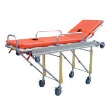 铝合金自动救护车担架 YXH-3B固定支架与救护车相固定 担架通过滑道上车后可锁定