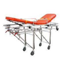 铝合金自动救护车担架 YXH-3A3固定支架与救护车相固定,担架可分离,可以快速抢救病人