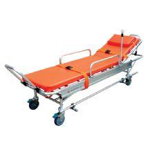 铝合金救护车担架 YXH-2B结构轻巧灵活、采用海绵软垫,使伤病员躺卧舒适