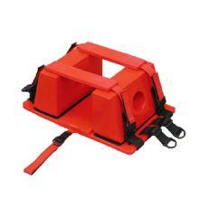 头部固定器XH-16A 由高密度的塑料材料构成可同时用于脊髓板担架和铲式担架