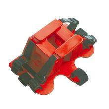 头部固定器XH-16B 由高密度的塑料材料构成可同时用于脊髓板担架和铲式担架