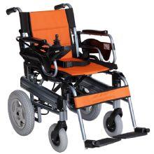上海互邦电动轮椅车 HBLD2-F活动扶手 活动挂脚 靠背可折叠 后轮双驱动 电子刹车