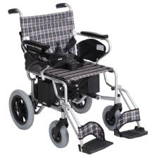 上海互邦电动轮椅车 HBLD1-C轻便折叠 双电机 老年人残疾人便携代步车