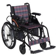 上海互邦电动轮椅车 HBLD4-F后轮双驱动 电子刹车 22寸后轮 续航23Km