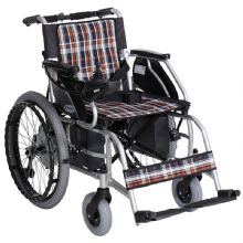 上海互邦电动轮椅车HBLD2-C型 22寸后轮 国产控制器续航23公里 靠背可折叠 可车载