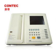 CONTEC 康泰心电图机 ECG1201交直流两用,内置锂离子可充电电池