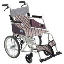 Miki 三贵轮椅车 MOCC-43JL(DX)型轻便折叠 老人代步车/残疾车