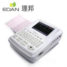 理邦心电图机SE-1201 数字式十二道交直流电两用,便于室外体检