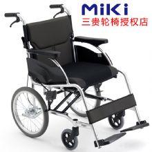 Miki 三贵轮椅车 MCSC-43JL型轻便折叠 家用老人残疾人轮椅