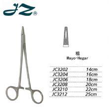 金钟无镀层持针钳JC3202 14cm 粗针 WD