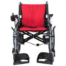 上海互邦易胜博客服电话轮椅车 HBLD3-E 四轮 铝合金升级版锂电池折叠便携老年人残疾人代步车 无刷双电机 可拆双锂电 可上飞机
