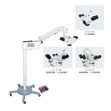 新诚手术显微镜XT-X-4B 备有助手镜 三人同时操作脚控微调 两位医生观察同一光路