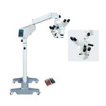 新诚手术显微镜XT-X-5B 四级调光副镜与主镜垂直体位 同光路 手动连续变倍