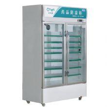 兆邦医用冷藏冰箱SC-606LF-YF 双开门低功率小容量
