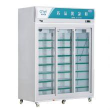 兆邦医用冷藏冰箱SC-1800LF-YF 三推拉门风冷制冷 温度均匀
